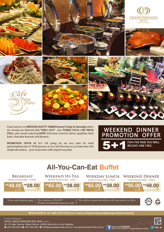 Buffet Promotion